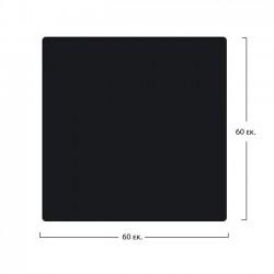 ΕΠΙΦΑΝΕΙΑ ΤΡΑΠΕΖΙΟΥ COMPACT HPL 60x60 εκ. ΜΑΥΡΗ HM5160.03